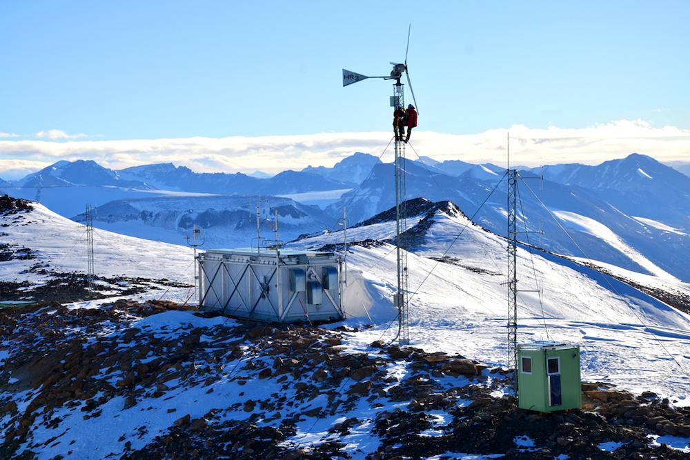 Remote sensing station