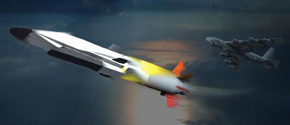 Scram jet X-51A Wave Rider